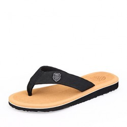 Men & #039;S Shoes Casual Fabric Sandals/Slippers Black/Brown/Gray