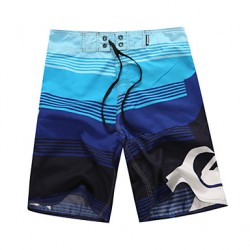 Men & #039;S Polyester Floral Swim Shorts