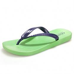 Men & #039;S Shoes Casual Rubber Slippers Blue/Green/Red