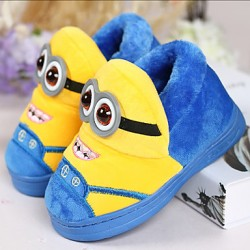 Boys & #039; Shoes Casual Fleece Slippers Blue