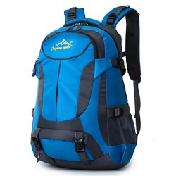 Unisex Nylon Sports/Outdoor Backpack/Travel Bag- Blue/Green/Orange/Red/Black