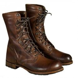 Men's Lace Up High Top Outdoor Boots