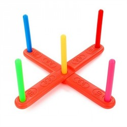 Family Outdoor Ring Throw Lawn Toss Outdoor Toys