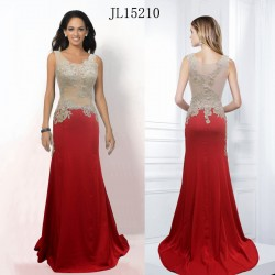 2015 new embroidery hot drill upscale toast clothing sexy fishtail dress evening dress bridesmaid dress chaired