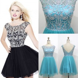 Summer 2015 latest bride toast clothes Bra hand-beaded elegant evening dress short paragraph