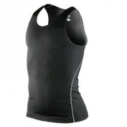 Men's Body Armour Compression Wear Base Layer Sleeveless Tank Top