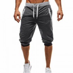 Men's Summer Drawstring Musle Harem Sport Jogging Shorts Sport