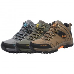 Men's Outdoor High-TopTrekking Waterproof Hiking Shoes