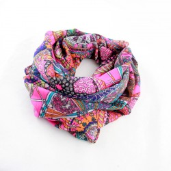 Ethnic Style Charming Scarves Traditional Fashionable Design Vintage Winter And Autumn Scarf For Women Accessories