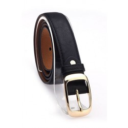 New Arrival Leather Belt Woman Top Quality Belts For Women Cinto Feminino Black White Brown Leopard Belt Strap Female Sv10