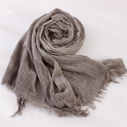 Fold Natural Cotton Scarf Women Men All Match Echarpe Winter Scarf Female Scarves 200 cmx 70 cm