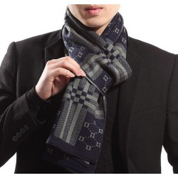2017 Winter Scarf Bufandas From India New Men & #39;S Wool Scarves Scarf Manufacturers Korean Tidal Wholesale Cashmere Knit Thicker