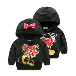 Boys coat low price fast shipping promotion children's clothing autumn and winter hooded cotton cartoon images