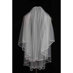 Popular bridal veil marriage lace accessories handmade discount wedding dress veil Promotions