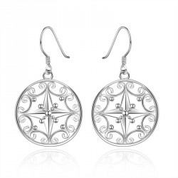 High-quality products silver earrings Women hollow star pattern matching earrings fashion accessories all new style hot selling jewelry fast delivery