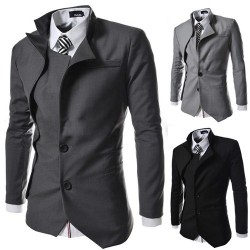 Low price Men's dress suits men cultivating small suit irregular design