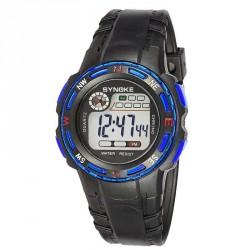 Popular children's student waterproof electronic watches boys sports watch multifunction hot sales discount