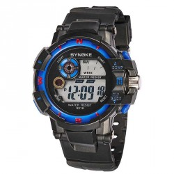 Popular outdoor sports watch men's electronic watch cool water