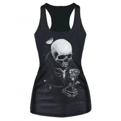 European market and the American market hot selling word vest bottoming Slim Skeleton flowers ladies camisole tops