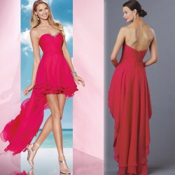 Before long after short low-cut dress Slim elegant low prices fine performances cute little party dresses affordable