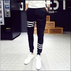 Autumn low price new style mens all-matching motion Wei pants feet harem pants fast delivery