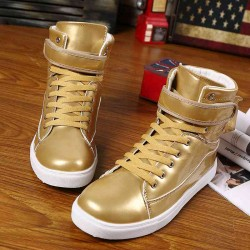 Fast shipping men's shoes fashion big size shoes high shoes all matching casual shoes street dance shoes student discount