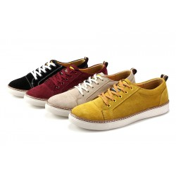 Fast delivery of new models in autumn and winter shoes Leather skin men's casual shoes student shoes street dance shoes