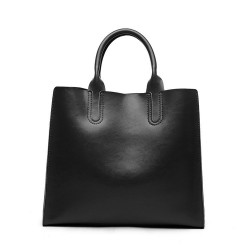 New leather ladies bag large bag cowhide low prices in Europe and the US market casual laptop shoulder bag ladies fast delivery