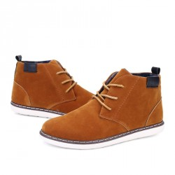 Promotional new style high-top shoes, casual shoes, men's shoes British style fast delivery