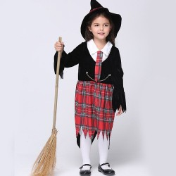 Childrens Halloween costume Cosplay Witch festival girls costumes suit performance clothing discounts