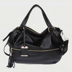 New leather header layer of leather fringed bag ladies handbag shoulder bag oblique Ms. Promotions