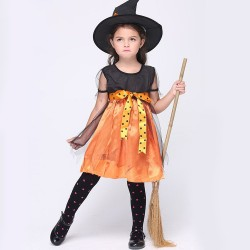 Childrens performances skirt suit Halloween costume costumes cosplay witch costume dance festival discounts