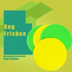 Pet Silicone Frisbee dog Frisbee throwing Frisbee Frisbee dog toys various color 18cm diameter