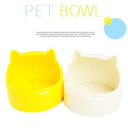 Cartoon pet cat bowl pet rabbit small special tableware variety of colors green hanging high quality feed box