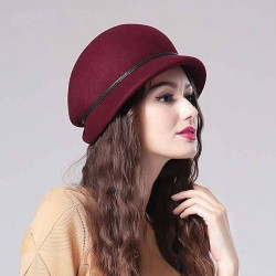 Material quality autumn and winter wool hat Ms. European market and the US market in autumn and winter hats and caps fashion warm hat Promotions