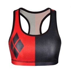 European market and the US market lower prices of new models of creative and colorful print vest shockproof running exercise no rims yoga underwear