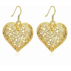 Jewelry low price high quality hot sales in Europe and the United States market promotion heart-shaped earrings pierced earrings Ms. fashion creative discounts
