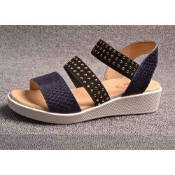 Fast shipping promotion new style sandals lady fashion casual shoes lady leather open-toed shoes, beach shoes Ms.