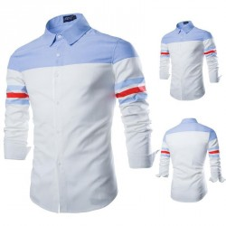 Cotton oxford shirt long-sleeved shirt Men's Autumn selling low price