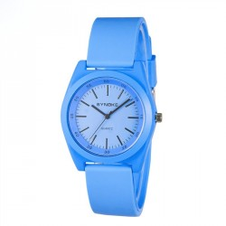Students watch popular quartz material minimalist fashion silicone material, soft and comfortable to wear Student Sport Watches