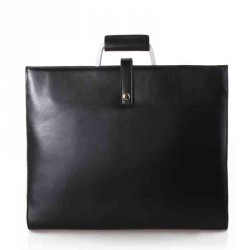 The new Ms. package leather briefcase Business Men Women neutral Ms. handbag large bag fast delivery