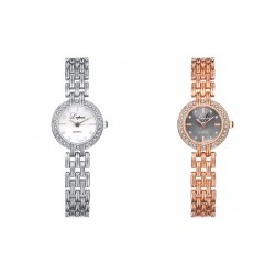 Fashion Quartz Glass Alloy Material Business Casual Watch Women