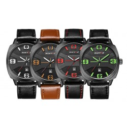 Sport Watch Fashion Complete Calendar Watch Waterproof Watch