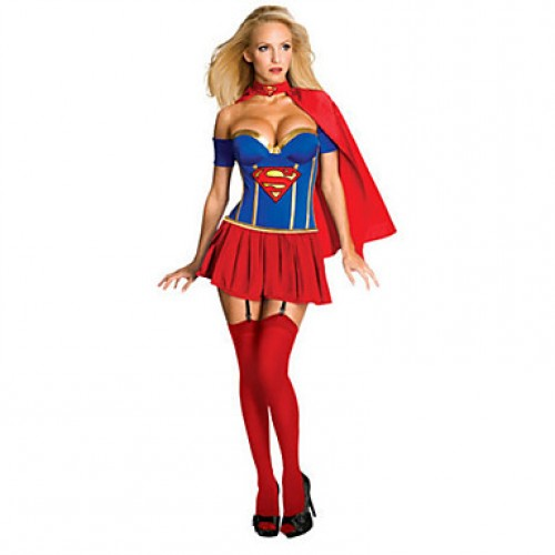 Sexy Supergirl Adult Women & #039;S Costume