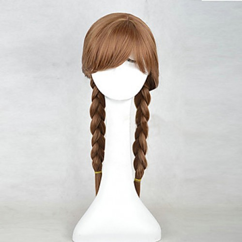 Frozen Princess Anna Cosplay Wig