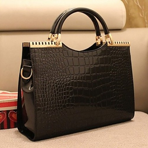 Women & #039;S New Style Chain Alligator Pattern Tote