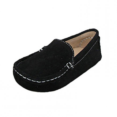 Leather Children & #039;S Flat Heel Comfort Loafers Shoes(More Colors)
