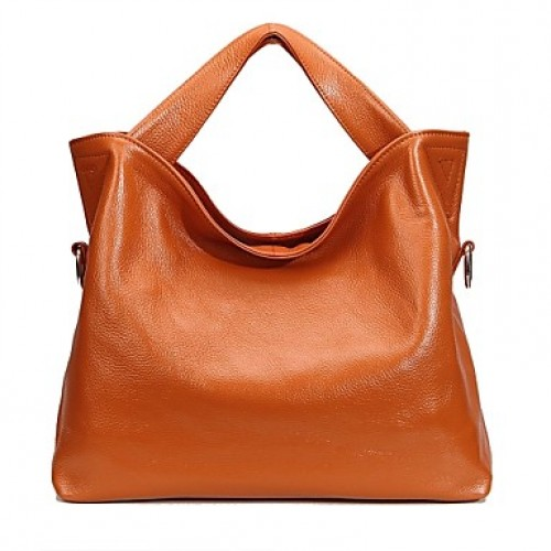 Women & #039;S Classic Simple Genuine Leather Tote Bag (More Colors)