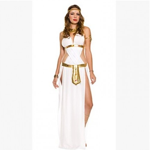 Greek Goggess Cosplay Costumes Skirt/Headpiece/Necklace