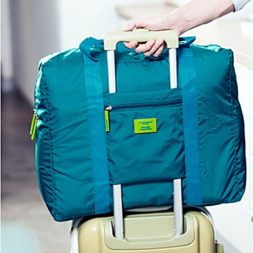 Unisex Nylon Casual Travel Bag- Multi-Color